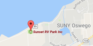 Directions to Sunset RV Park Oswego NY